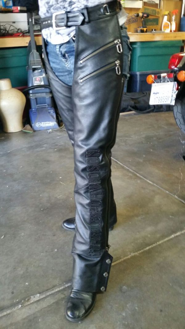 9d6847d5a Deluxe Women's Harley Davidson Chaps (small) for Sale in Loveland, CO -  OfferUp