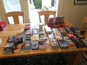 35 books on tape. Original cost $865. Asking $65. See the list second photo. Some never opened. for Sale in Tampa, FL