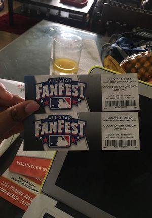 FANFEST TICKETS for Sale in Miami, FL