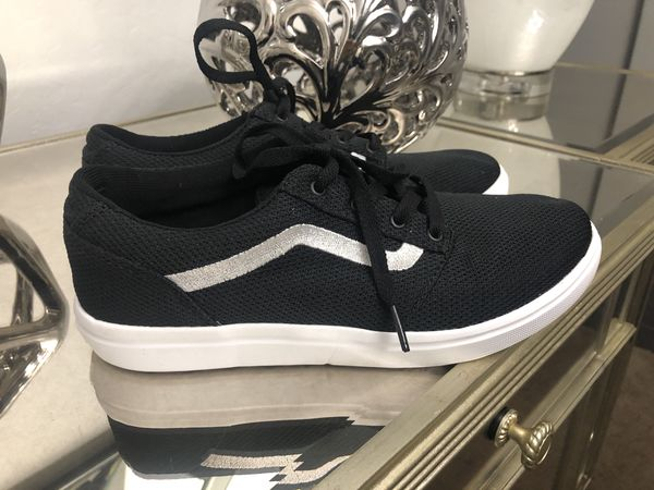 06f5b16f0b VANS ISO 2 (Mesh) Black White White ULTRACUSH Trainer Size 6Y (Clothing    Shoes) in Laveen Village