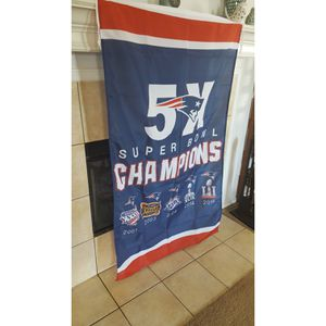 New and Used Patriots flag for Sale in Midlothian, TX - OfferUp