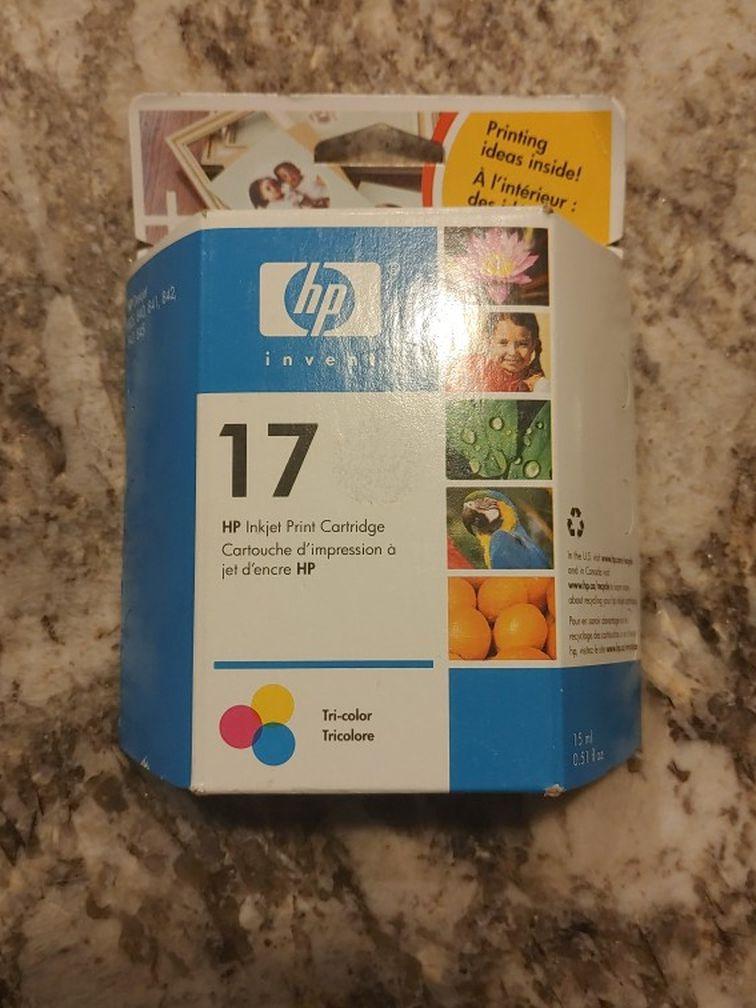 HP 17, Tricolor Inkjet Print Cartridge