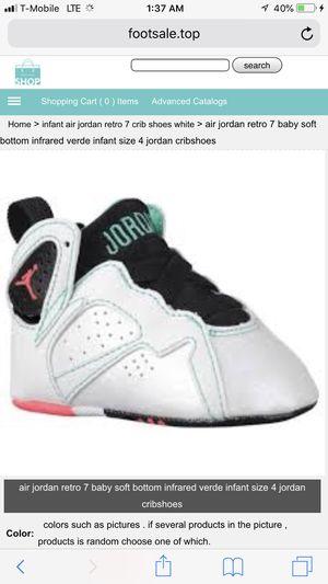 0bf2dca512ad6b ... uk air jordan retro 7 baby shoes size 4 for sale in perris ca b9886  c4d55