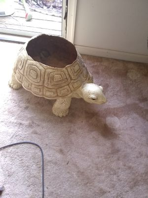 Large turtle planter indoor only for Sale in Alexandria, VA