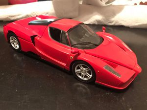 1:18 scale Ferrari Enzo Ferrari Hot Wheels red for Sale in Ranson, WV