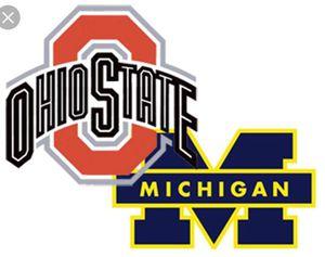 2 OSU (Ohio State) VS MICHIGAN TICKETS 37B for Sale in Columbus, OH