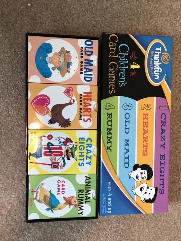 children s card games for sale in raleigh nc offerup