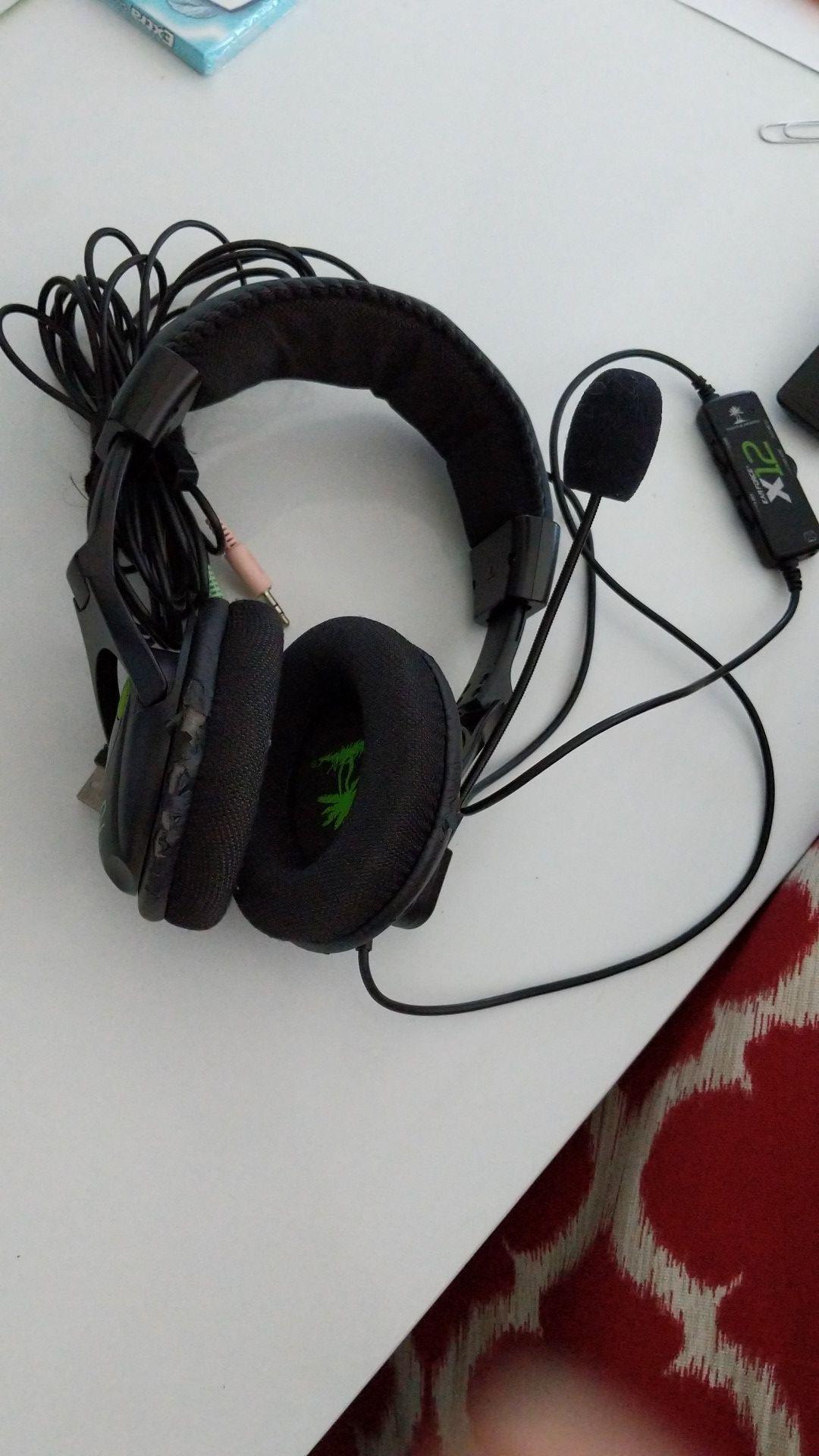 Turtle Beach X12 Gaming Headphones