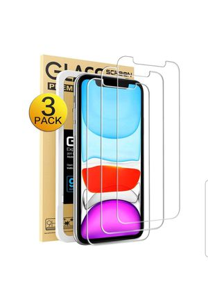 Photo Screen Protector Apple iPhone XR & iPhone 11, 3-Pack Clear