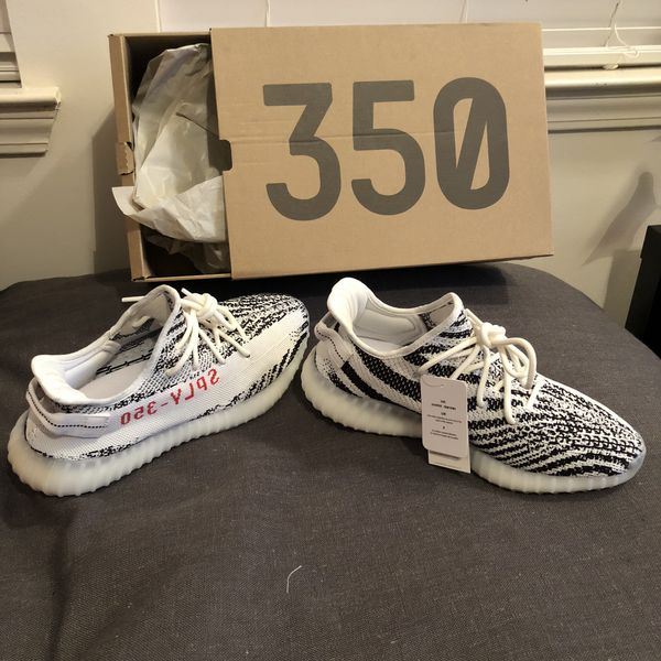 100% authentic 94c53 3d87c Yeezy Boost 350 V2 Zebra size 10 for Sale in Tampa, FL - OfferUp