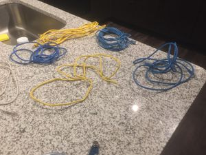 6 network cables. 2 dollars a piece for Sale in Tampa, FL