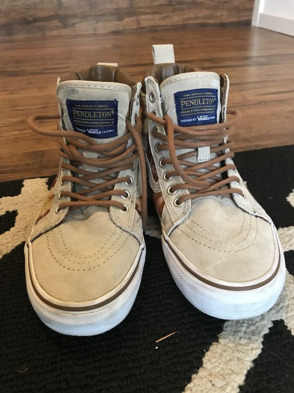 c09e2a719f VANS X Pendleton SK8-HI Mte for Sale in Bothell