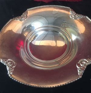 Silver plated fruit / bread plate W10xH2.5 for Sale in Chandler, AZ