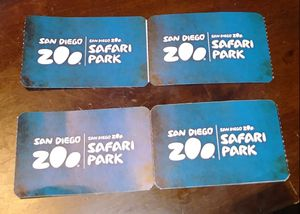 🙈🙉🙊🐵🐯🐺🐫SAN DIEGO ZOO 🐨🐺🐅🐂🐃🐆🐈4 TICKETS INCLUDED GUIDED BUS TOUR , KANGAROO BUS AND SKYFARI AERIAL TRAM. $40 EACH. expire January 11, 2019 for Sale in San Diego, CA