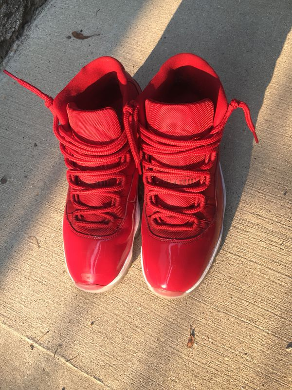 All red Jordan 11s size 11! Need gone hmu  150! for Sale in Chicago ... 67437ad0e772