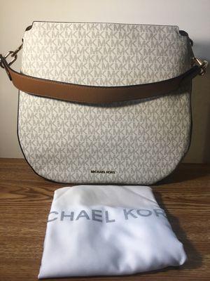Shoulder bag genuine MK 100% leather for Sale in Fort Belvoir, VA