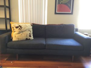 The Eddy Indigo West Elm Loveseat for Sale in Los Angeles, CA