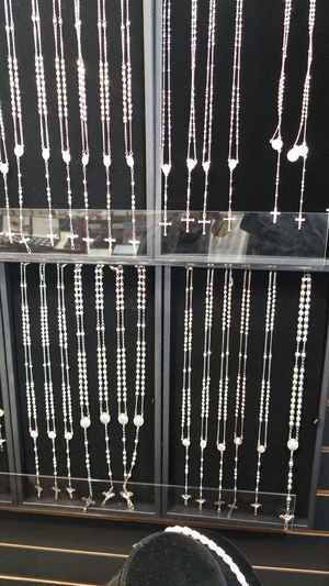 NEW SILVER ROSARIES for Sale in San Diego, CA