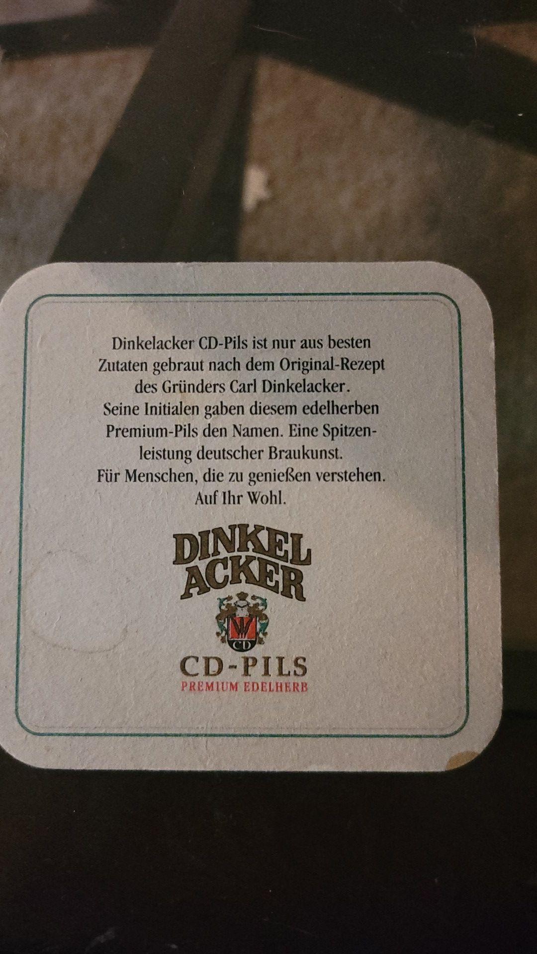 17x Dinkel Acker coasters