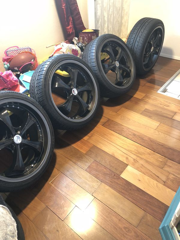 For sale my rims 20 245/35/20 llantas nuevecitas $450 (Auto Parts ...