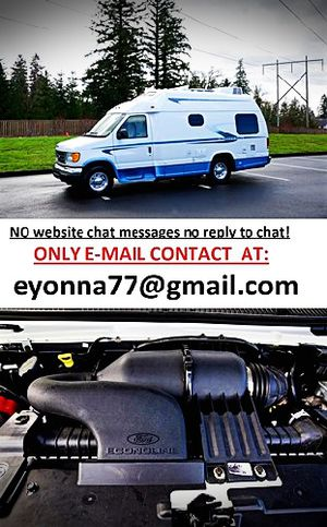 For Sale Ford E350 VAN motorhome full price listed RV for Sale in Washington, DC