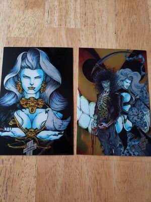 Photo Lady Death Mega Cards