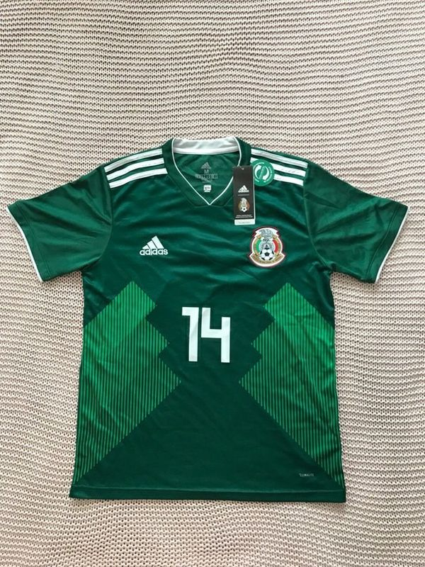 5451bef7805 Chicharito Mexico New Men s Soccer Team Green Jersey - M for Sale in ...