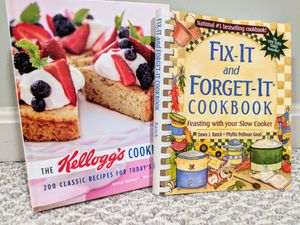 Cook books: Fix-it & Forget-it & The Kellogg's cookbook for Sale in Sterling, VA