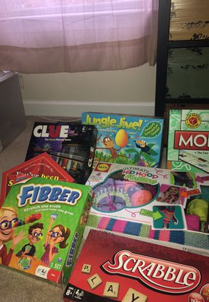 Family Fun Board Games for Sale in Ashburn, VA