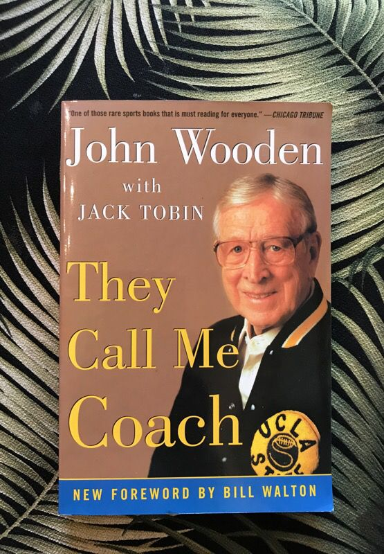 Signed John Wooden Book For Sale In Los Angeles Ca Offerup