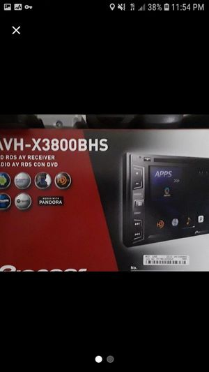 2017 Pioneer DVD TV, CD player with back up camera for Sale in Auburn, WA