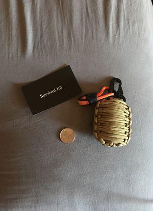 Survival Grenade kit, 14 items (khaki color) for Sale in San Diego, CA
