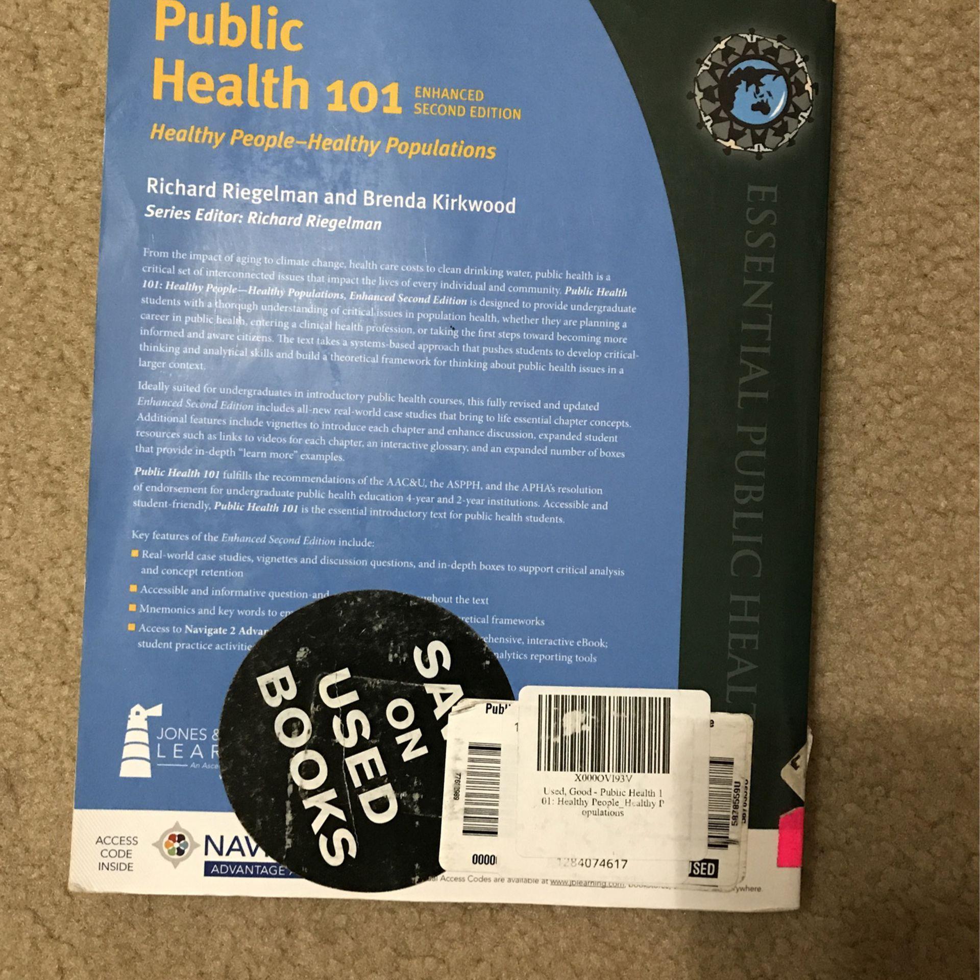 Public Health 101 Healthy People Healthy Population