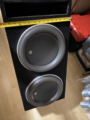 Photo JL audio w7 12 inch