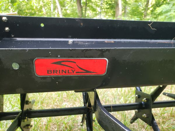 Home Depot Brinly Hardy 40 In Tow Behind Plug Aerator For Tyngsborough Ma Offerup