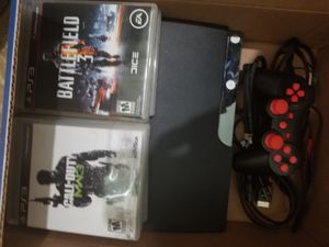 PS3 120GB slim for Sale in Bethesda, MD