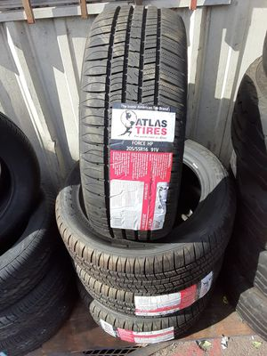 Photo New tires set 205 55 16