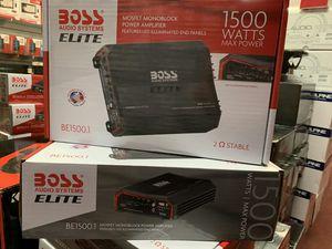 Photo Boss elite 1500 watt amp, get the best deals in la today
