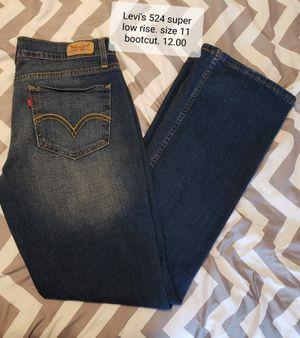 Womens jeans Levis524 for sale Broken Arrow, OK bb4253b18d