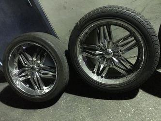 24 Inch Wheels 6 Lug Universal  Thumbnail