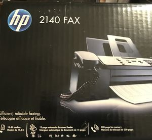 Hp 2140 Fax Machine for Sale in Baltimore, MD