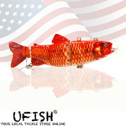 USB Red Bass Self Swimming Fishing Lure Gift For Fisherman Propeller With Charger Thumbnail