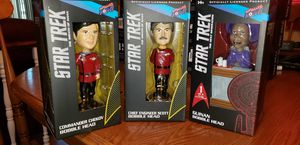 Star Trek Bobble Head trio set. for Sale in Antioch, CA