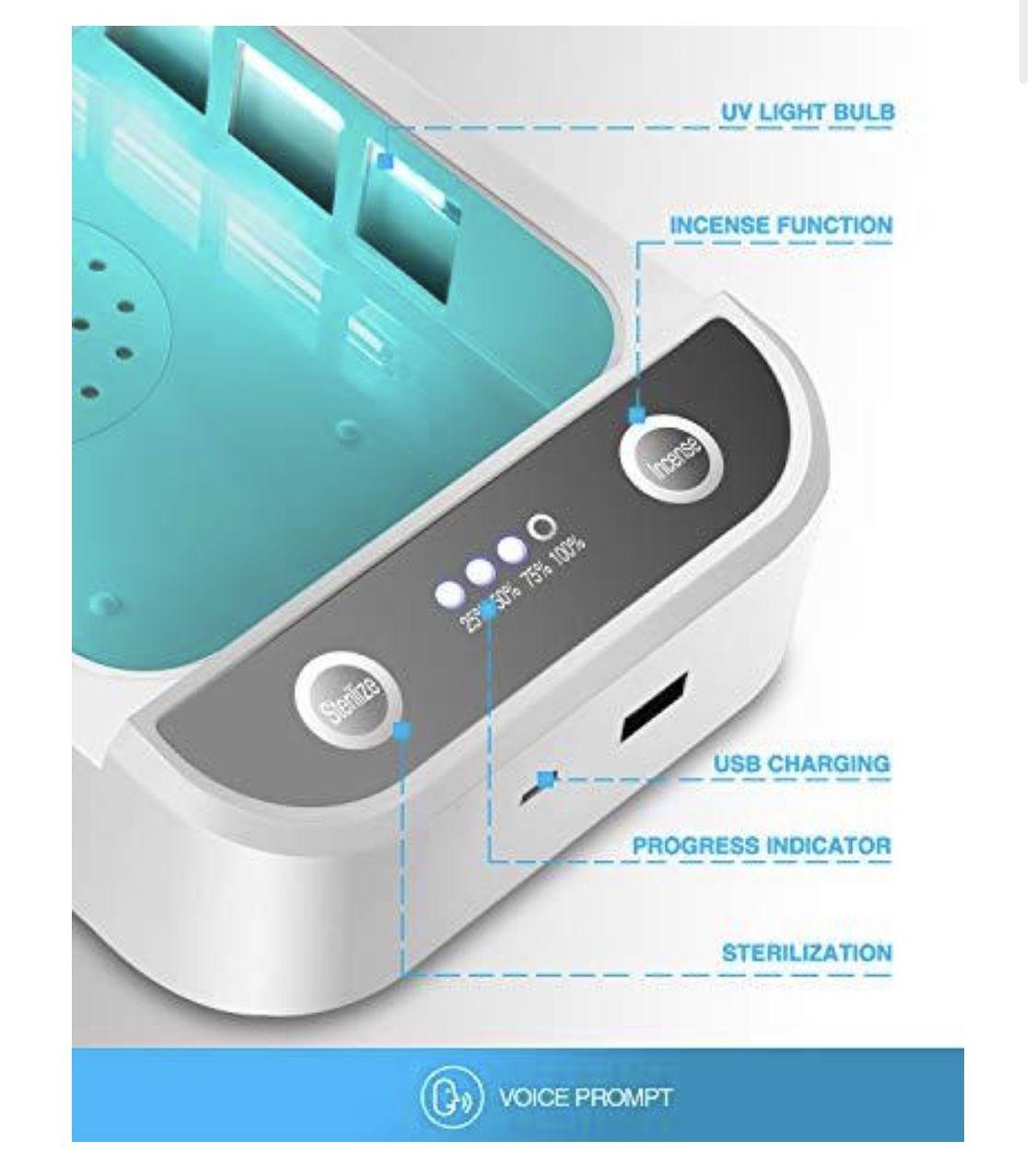 Brand New UV Light Disinfection Box, Disinfection Sterilization Box
