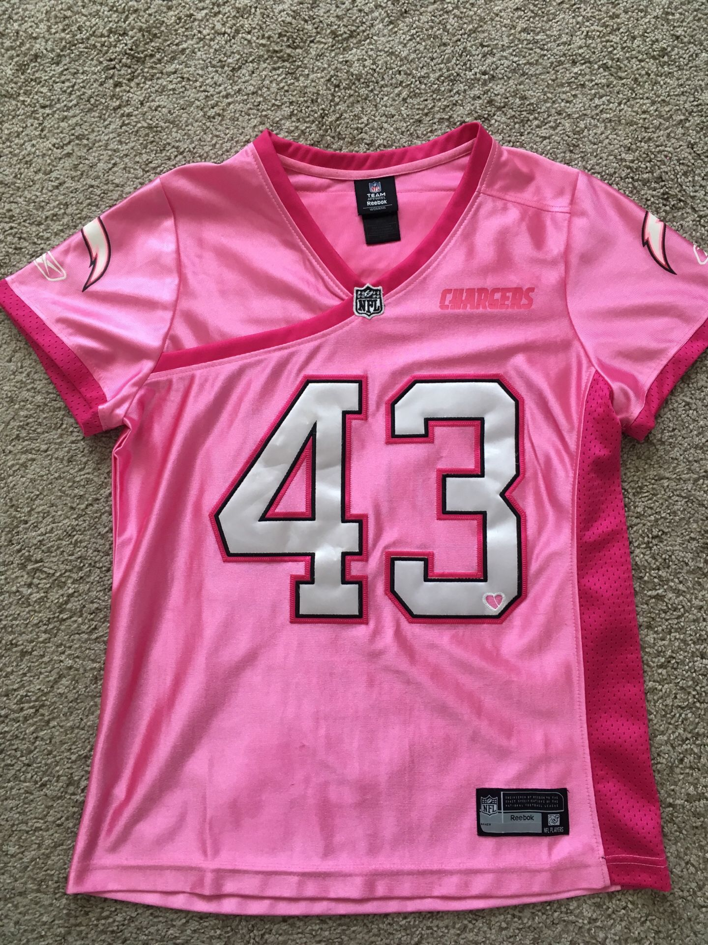 San Diego Chargers Jersey Womens M