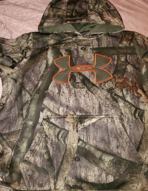 Photo Boys Under Armour Hoodie Mossy Oak Camo Size L