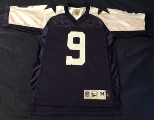 Vintage Reebok Dallas Cowboys #9 Tony Romo NFL Football Jersey Size M for Sale in Hyattsville, MD