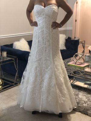 Wedding Dress - NEW size 10 for Sale in Apopka, FL