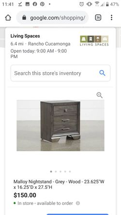 Brand New Nightstand from Living Spaces in box Thumbnail