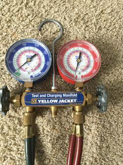 Yellow Jacket Freon gauges Thumbnail